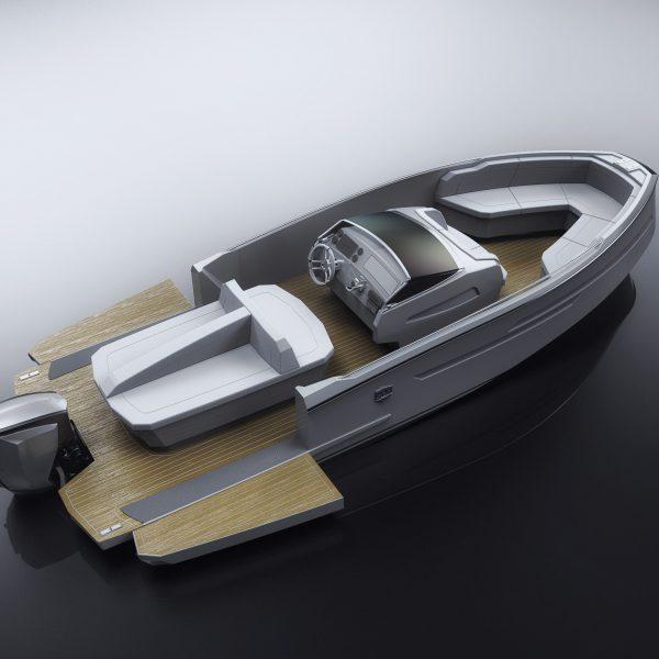 custom watersport boat