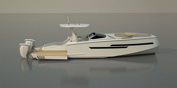 Family cruiser powerboats